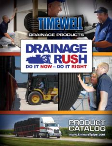 Timewell Drainage Products Agriculture Catalog