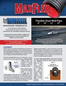 Timewell MaxFlex Flexible Dual Wall