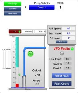 ADI iOS Lift Station Remote Pump Monitoring System
